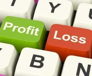 Photo of profit and loss risk